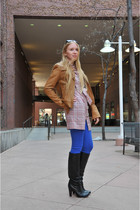 Dolce Vita boots - abercrombie and fitch pants - Mike and Chris jacket - dress