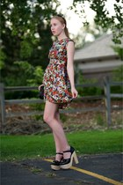 black Chloe Sevigny for Opening Ceremony heels