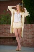 ivory Stone Cold Fox shorts - navy pearl Chanel sunglasses