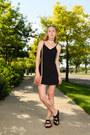 Black-strappy-bdg-dress-light-pink-fringe-latico-leathers-bag