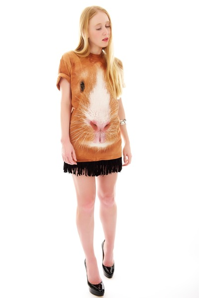 bronze guinea pig The Mountain t-shirt - black eros Jimmy Choo pumps