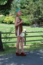Brown-miu-miu-shoes-white-rvca-dress-beige-only-hearts-dress-brown-of-two-