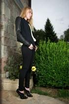 black eon Helmut Lang jacket - black J Brand jeans