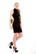 black jardin platform Fendi pumps - black Kelly Bergin dress