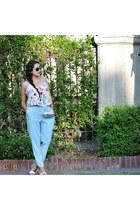 New York and Company blouse - TJMaxx pants - stein mart heels