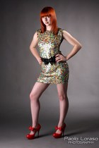 sequined Topshop dress