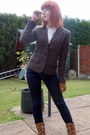 Navy-polo-ralph-lauren-jeans-dark-brown-h-m-blazer