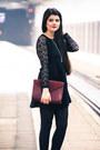 Black-tk-maxx-dress