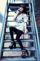 front row dress - Jeffrey Campbell heels