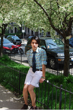 H&M shirt - H&M shorts - vintage tie - vintage belt - Aldo shoes - Michael Kors