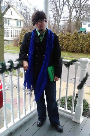 Avenue scarf - Steve&Barrys coat - liz claiborne bag