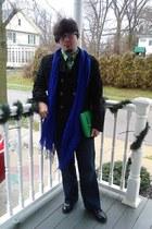 Avenue scarf - Steve&Barrys coat - liz claiborne bag