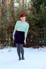 Light-blue-forever-21-sweater-gray-polka-dot-forever-21-tights