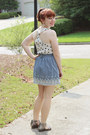 Light-blue-chambray-forever-21-skirt-white-modcloth-top