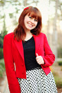 Red-ralph-lauren-blazer-black-xhileration-boots