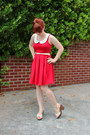 Red-modcloth-dress-red-wayfarer-forever-21-sunglasses