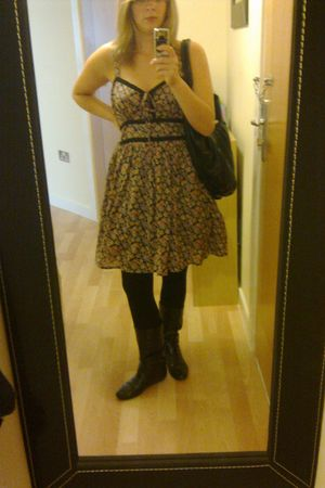 Atmosphere dress - new look boots