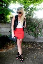 random brand skirt - Forever New bag - Dolce sunglasses - Foschini heels