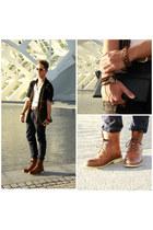 vintage suiteblanco boots - skinny jeans Pepe Jeans jeans