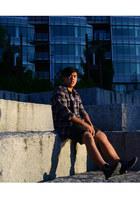 Lucky Brand shirt - Esprit shorts - Converse sneakers