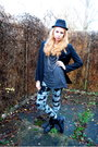 Black-din-sko-boots-gray-monki-leggings-gray-zara-t-shirt-black-gina-trico