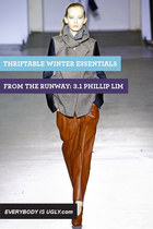 Thriftable Winter Essentials From the Runway: 3.1 Phillip Lim
