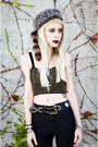 Black-ksubi-jeans-black-gypsy-warrior-top-blue-kill-city-vest