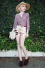 Crimson-jeffrey-campbell-shoes-eggshell-floral-youreyeslie-shorts