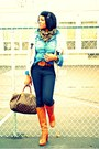 Tawny-michael-kors-boots-black-rag-bone-jeans