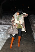Michael Michael Kors boots - Blue spice jeans - Marc by Marc Jacobs purse - kens