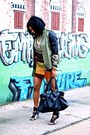 Olive-green-zara-jacket-tawny-leather-skirt-black-camilla-skovgaard-sandals