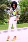 White-skinny-jeans-hot-pink-floral-print-blazer