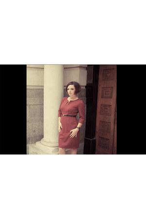 crimson Jeetly dress