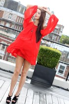 red Republic dress