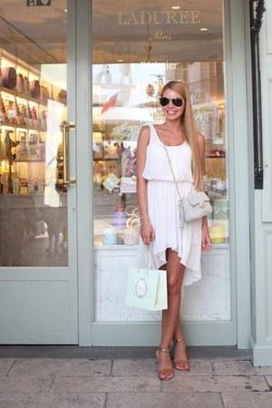 white Love dress