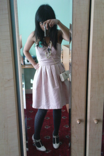 Prom Dress with Tights
