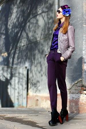 light purple faux leather Steve Madden jacket