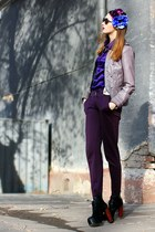 light purple faux leather Steve Madden jacket