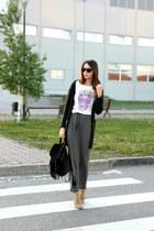 Zara boots - snaptee t-shirt