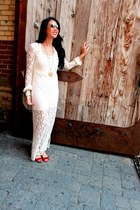American Retro dress - Zara shoes - Biko necklace