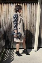 ALTUZARRA boots - H&M dress - ann taylor jacket - Aldo bag