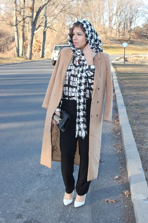 Aldo bag - Forever 21 coat - Forever 21 shirt - Loft pants - Aldo pumps