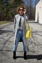 Victorias Secret boots - Gap jeans - Forever 21 shirt - kate spade bag