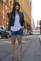 forever 21 jacket - Lands End shirt - banana republic shorts