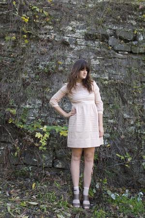 pink madewell dress