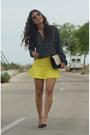 Blouse-skirt-heels