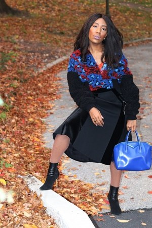 Sergio Rossi boots - KENZO x HM jacket - asos tights - Givenchy bag
