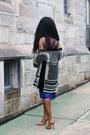 Cushnie-et-ochs-dress-h-m-balmain-jacket-giorgio-armani-purse