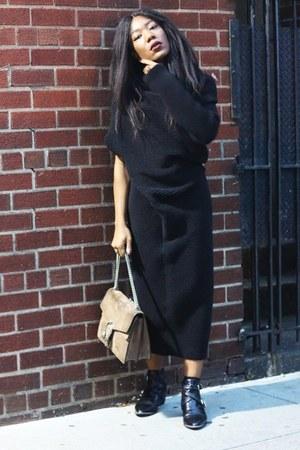 sam edelman boots - Acne Studios sweater - Gucci bag