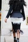 Black-sergio-rossi-boots-black-target-blazer-maroon-celine-bag
